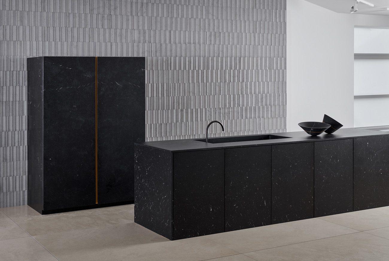 Cucina marmo nero marchinia